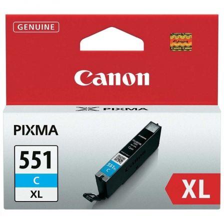 CARTUCHO DE TINTA CIAN CANON CLI-551C XL MG6350/MG5450