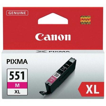 CARTUCHO DE TINTA MAGENTA CANON CLI-551M XL MG6350/MG5450